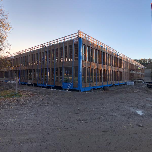 Construction en bois Namur
